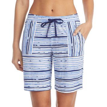 Women's Jockey Striped Bermuda Pajama Shorts