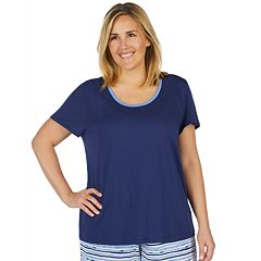 Plus Size Jockey Keyhole Sleep Tee