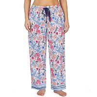 Plus Size Jockey Floral Pajama Pants