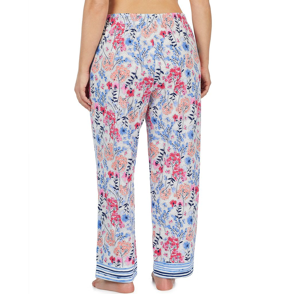 Plus Size Jockey Floral Pajama Pants