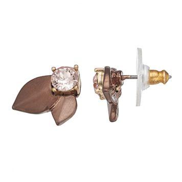 Simply Vera Vera Wang Flower Petal Nickel Free Stud Earrings