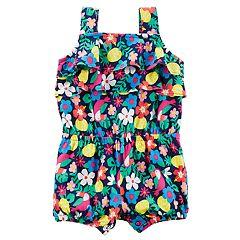 Baby Girl Carter's Floral Romper