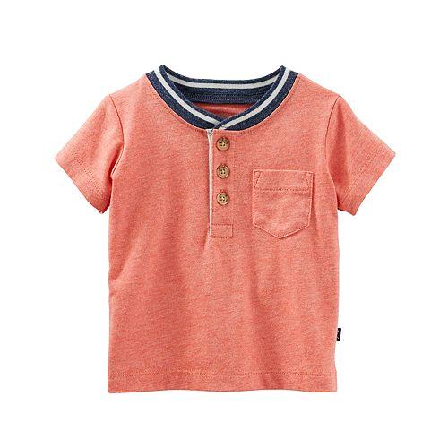 Baby Boy OshKosh B'gosh® Pocket Henley