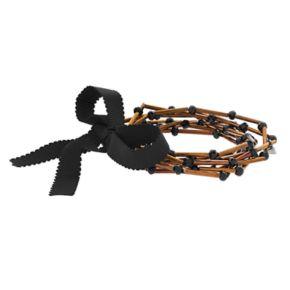 Simply Vera Vera Wang Burnished Stretch Bracelet Set