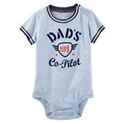Baby Boy OshKosh B'gosh® 'Dad's No. 1 Co-Pilot' Bodysuit