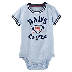 Baby Boy OshKosh B'gosh® 'Dad's No. 1 Co-Pilot' Bodysuit