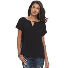 Women's Rock & Republic® Keyhole Tee