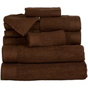 Portsmouth Home Ribbed Cotton 10 pc Bath Towel Set