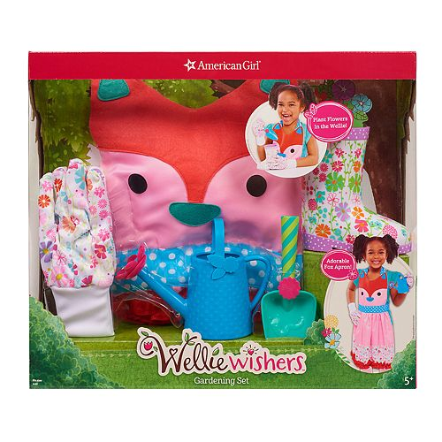 American Girl Wellie Wishers Gardening Set