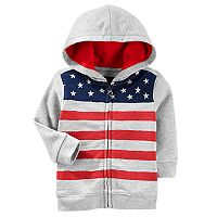 Baby Boy OshKosh B'gosh® Flag Zip Hoodie