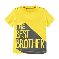 Toddler Boy Carter's 'The Best Brother' Graphic Tee