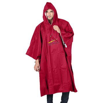 Adult Northwest St. Louis Cardinals Deluxe Poncho