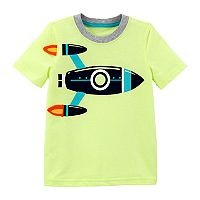 Toddler Boy Carter's Rocket Ship Graphic Tee