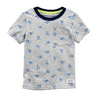 Toddler Boy Carter's Sneakers Pocket Ringer Tee
