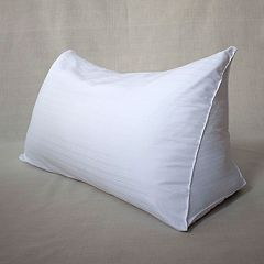 Downlite Dobby Damask Reading Wedge Pillow Cover