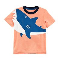 Toddler Boy Carter's 3D Shark Tee