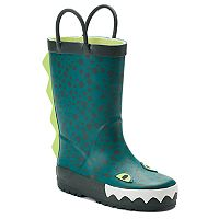 Carter's Ryker Monster Toddler Boys' Waterproof Rain Boots