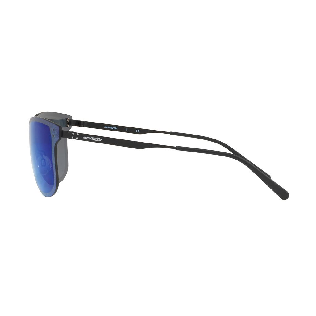 Arnette Hundo-P2 AN3074 55mm Rectangle Mirror Sunglasses