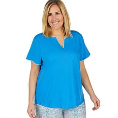 Plus Size Jockey Splitneck Sleep Shirt