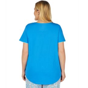 Plus Size Jockey Splitneck Sleep Shirt