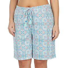 Plus Size Jockey Bermuda Pajama Shorts
