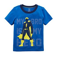 Toddler Boy Carter's 'My Bro Is My Hero' Superhero Graphic Tee