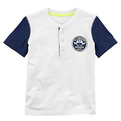 Toddler Boy Carter's 'Speed Racing' Henley Top