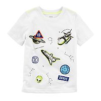 Toddler Boy Carter's Space Patches Tee