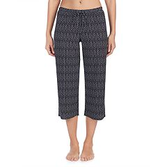 Women's Jockey Printed Crop Pajama Pants