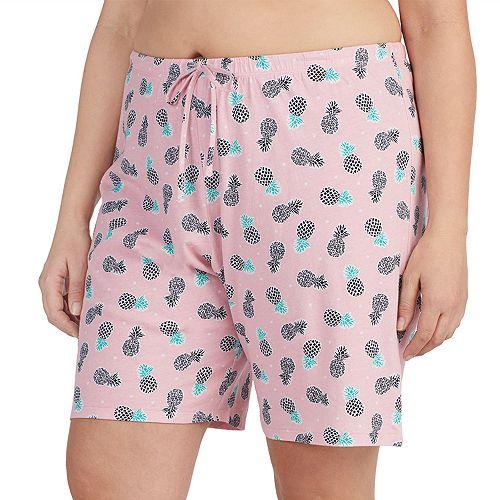 Plus Size Jockey Bermuda Pajama Shorts