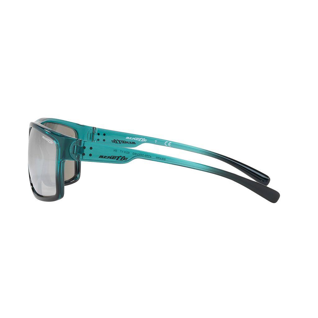 Arnette Brapp AN4239 62mm Rectangle Mirror Sunglasses