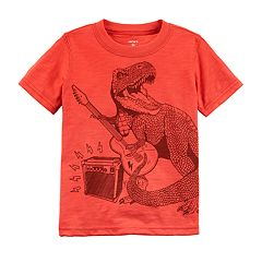 Toddler Boy Carter's T-Rex Rock Star Graphic Tee