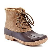 Henry Ferrera Mission 72 Women's Water Resistant Duck Winter Boots