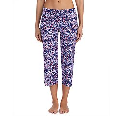 Women's Jockey Print Crop Pajama Pants