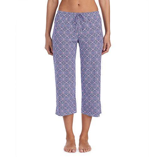 97a10bacde Women s Jockey Print Crop Pajama Pants