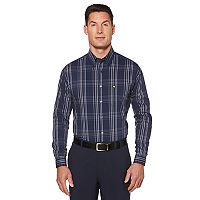 Men's Jack Nicklaus Regular-Fit Plaid Button-Down Shirt