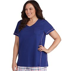 Plus Size Jockey V-Neck Pajama Tee