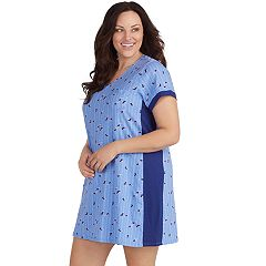 Plus Size Jockey Contrast Printed Sleepshirt