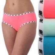 Women's New Balance 3-pack Mainstream Hipster Panties NB4034-3