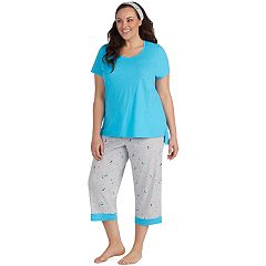 Plus Size Jockey 3-piece Pajama Set