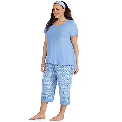 Plus Size Jockey 3-piece Pajama Set