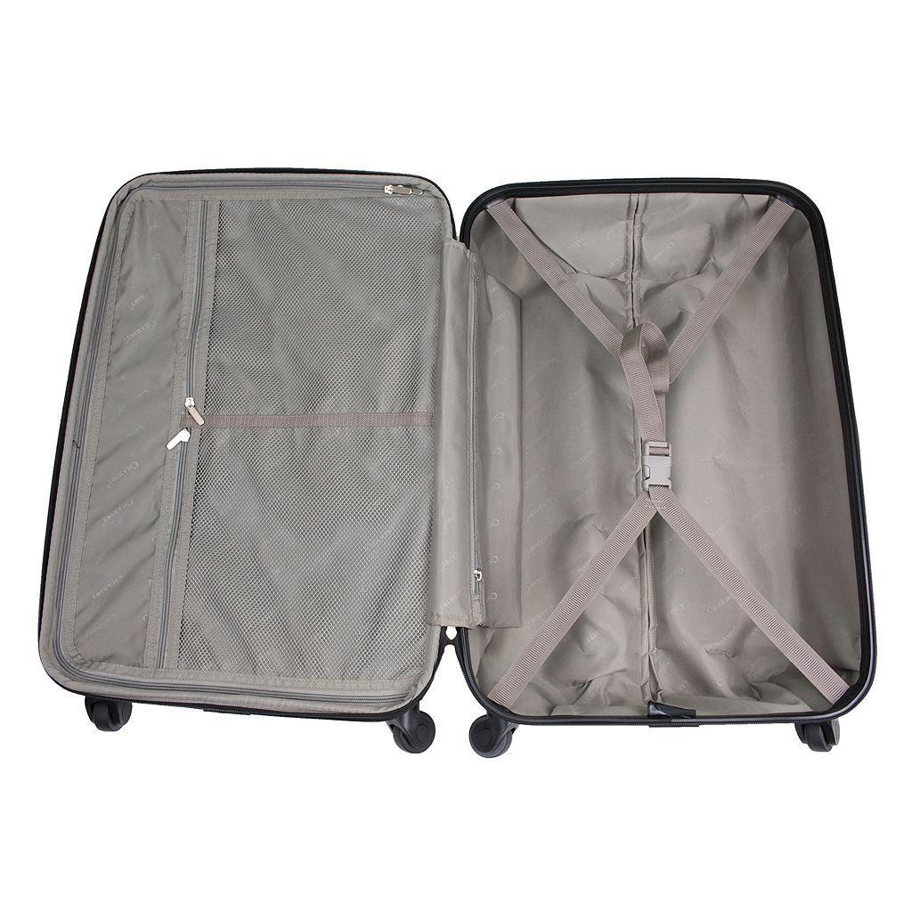 Chariot Novelty Print 3-piece Hardside Spinner Luggage Set