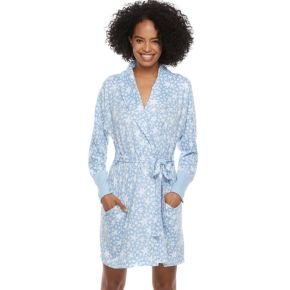 Women's SONOMA Goods for Life? Belted Shawl Collar Robe