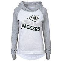 Girls 7-16 Green Bay Packers Fan Wave Hoodie