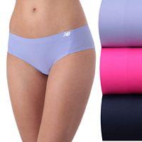 Women's New Balance 3-pack Premium Mesh Thong Panties NB4020-3