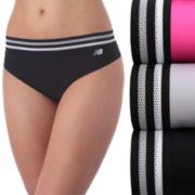 Women's New Balance 3-pack Athletic Mesh Hipster Panties NB4046-3