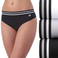 Women's New Balance 3-pack Athletic Mesh Hipster Panties NB4046-3