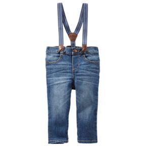 Baby Boy OshKosh B'gosh® Suspender Jeans