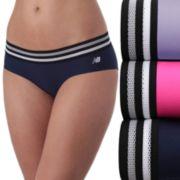 Women's New Balance 3-pack Athletic Mesh Thong Panties NB4044-3