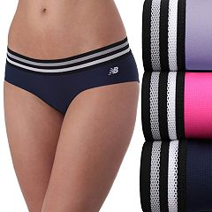 Women's New Balance 3-pack Athletic Mesh Thong Panties NB4044-3
